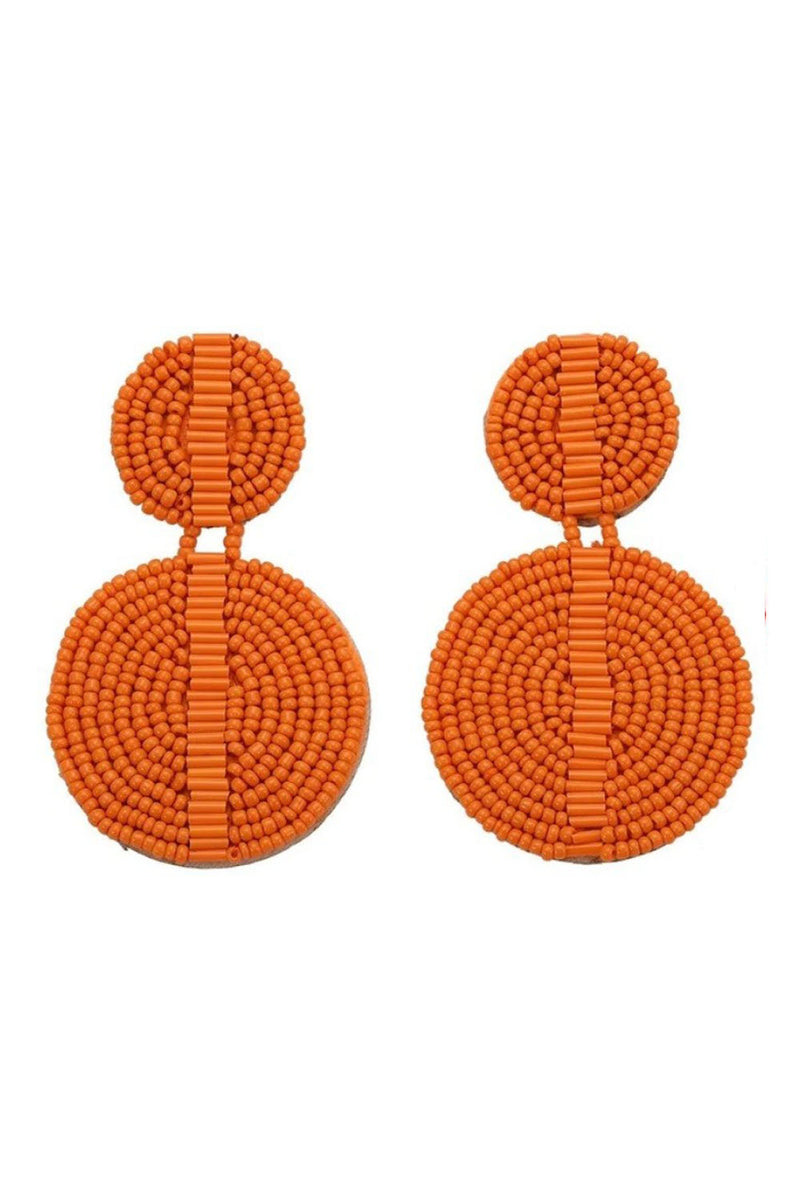Madelyn Earrings - Orange