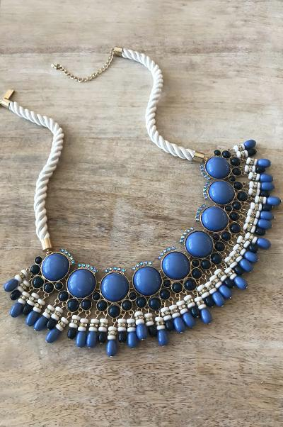 Morgan Necklace - Blue