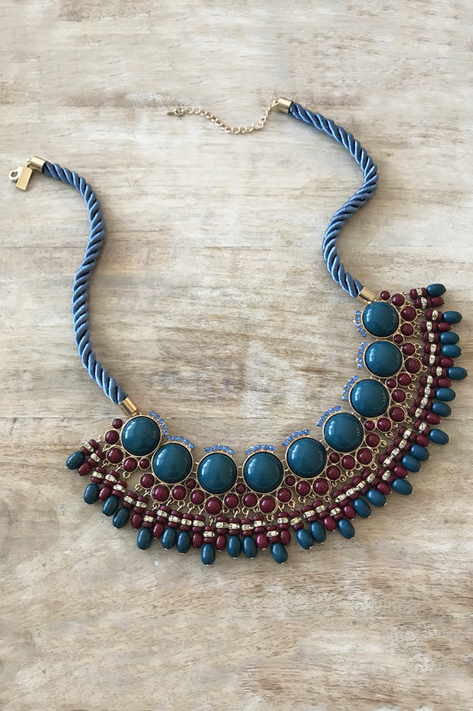 Morgan Necklace - Garnet
