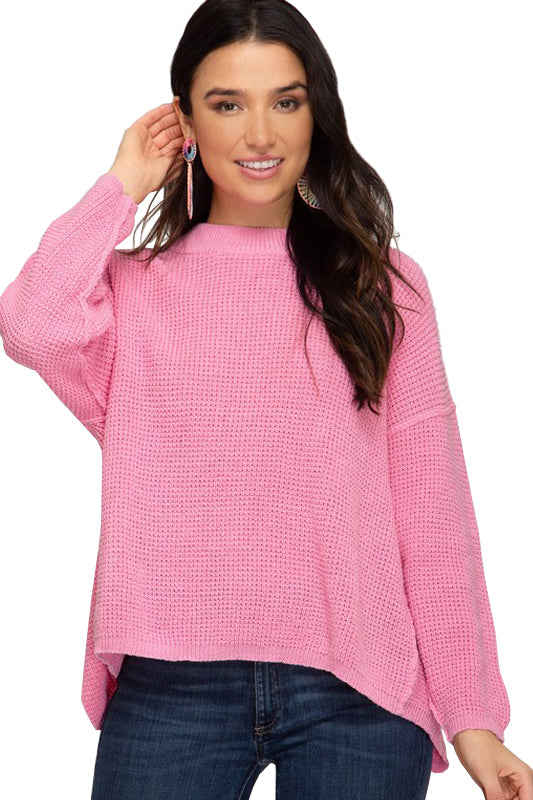 Natalie Sweater -Pink