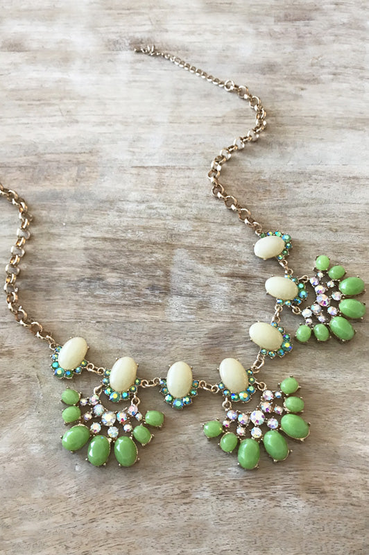 Nell Necklace - Green