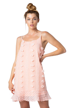 Baylee Dress - Peach