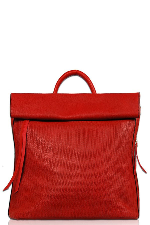 Zoe Backpack - Red