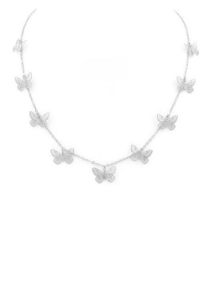 Cora Necklace - Silver