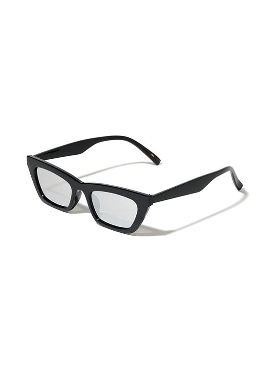 Mckenna Sunglasses - Clear Black