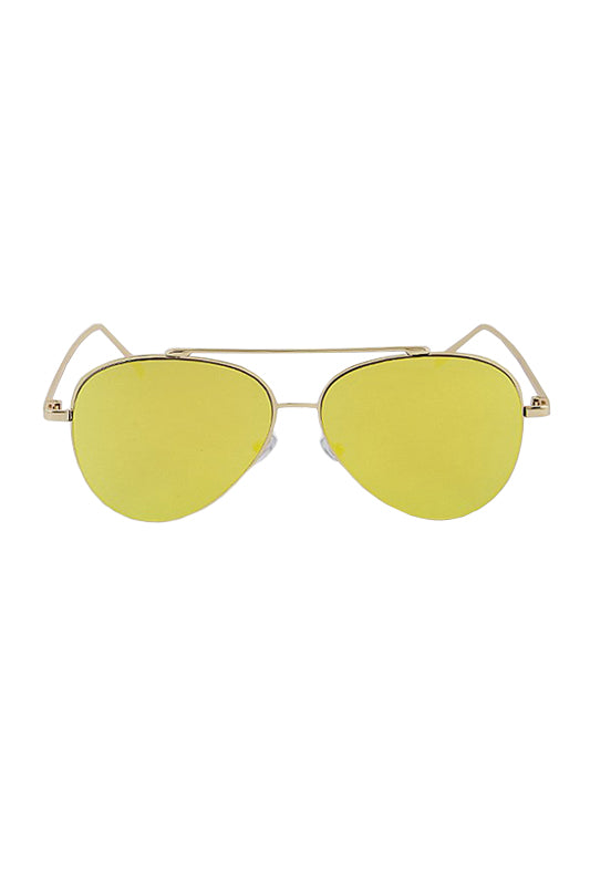 Skylar Sunglasses - Yellow