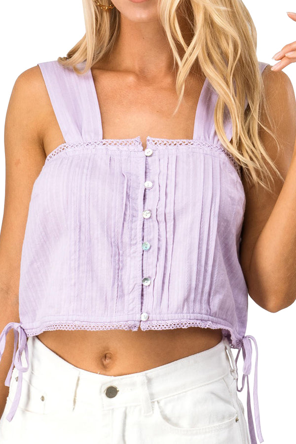 Sutton Top - Lavender