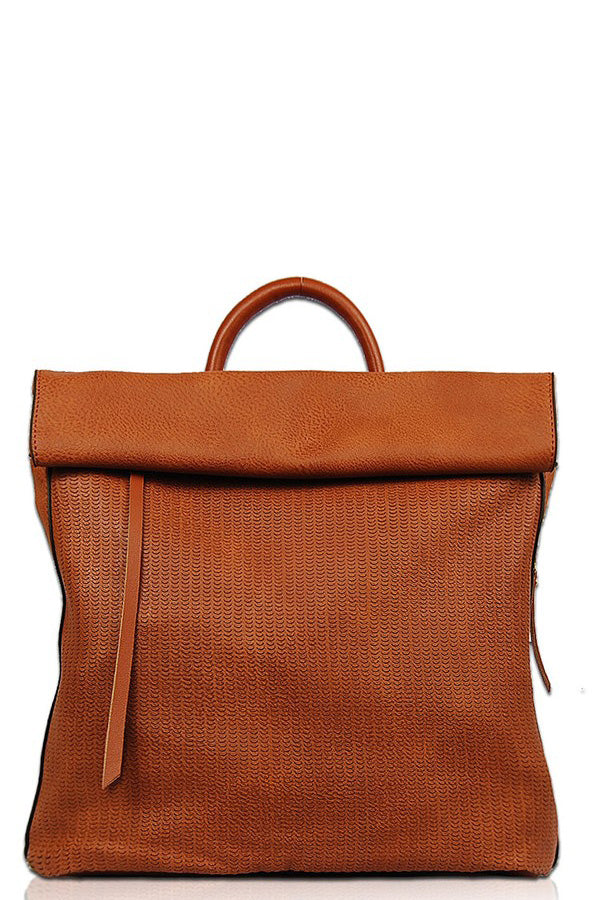 Zoe Backpack - Cognac