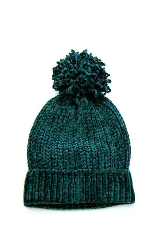 Teal Brooklyn Beanie