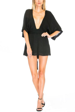 Tinsley Romper - Black