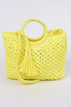 Violet Bag - Yellow