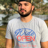 Wide Open Sign Tee