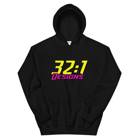 32:1 Retro Hoodie - 32to1 Designs