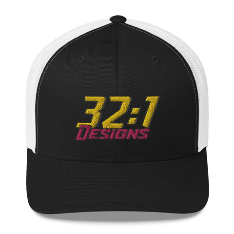 Retro Trucker Cap - 32to1 Designs