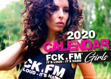 Load image into Gallery viewer, Calendar FCK.FM Girls 2020