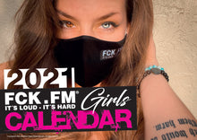 Load image into Gallery viewer, Calendar FCK.FM Girls 2021