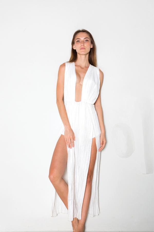 Phi Phi Dress White
