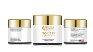 Godess Define Me Curl Moisturizer and Defining Cream (4oz)