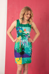 Robe sans manche LANIA JUNGLE