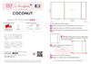 Kit DIY Housse de coussin COCONUT RECREATION