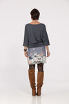 Pull uni Gris anthracite MUSE