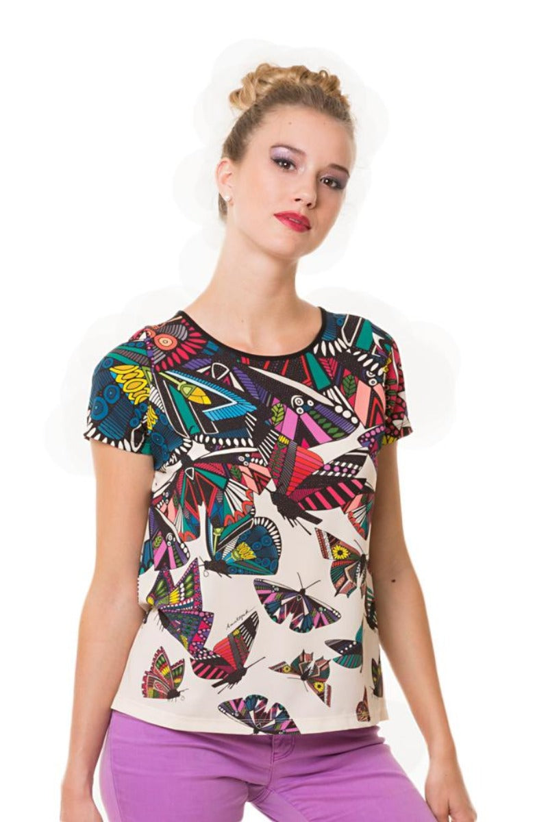 Blouse JUST BUTTERFLY