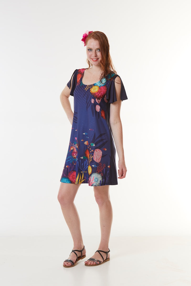 Robe ample LORANE ABYSSES