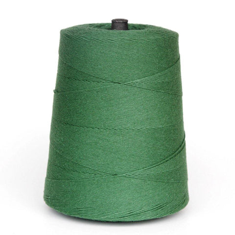 Green Cotton String Cone