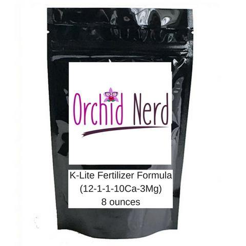Orchid Nerd ™ K-Lite fertilizer formula (12-1-1-10Ca-3Mg) 8 ounces - Waldor Orchids
