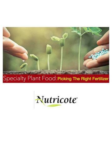 Nutricote Slow Time Release Fertilizer 180 Day 16 ounces - Waldor Orchids