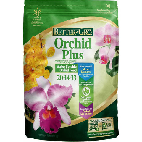 BETTER-GRO Better-Gro Orchid Plus Plant Food, 1 lbs