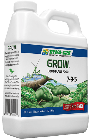 Dyna-Gro 7-9-5 Grow Fertilizer Quart