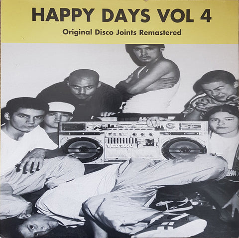 Happy Days Vol 4: Original Disco Joints Remastered