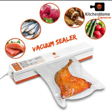 Load image into Gallery viewer, 110V Household Food Vacuum Sealer Packaging Machine Including 15 pieces Vacuum Sealer bags