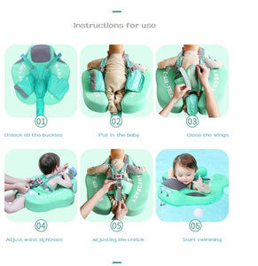 Baby Infant Non-Inflatable Swimming Training Float