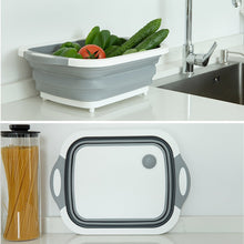 Load image into Gallery viewer, Vegetable & Fruit Basket . Convertible Into Cutting & Chopping Board