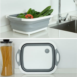 Vegetable & Fruit Basket . Convertible Into Cutting & Chopping Board