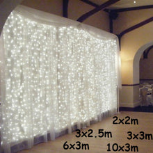 Load image into Gallery viewer, LED Icicle Christmas | Wedding | Party |  Garden  Curtain Decoration Lights