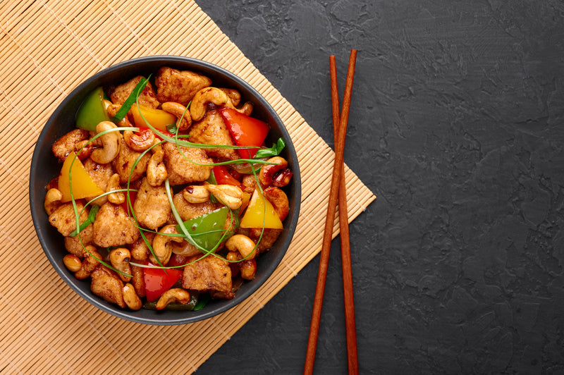 THAI CASHEW CHICKEN & PEPPERS