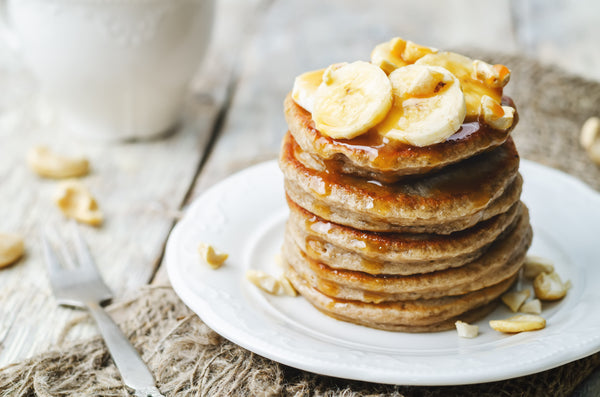 FRIED BANANA COCONUT PANCAKE