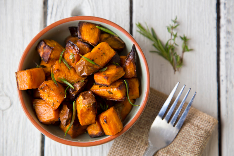 CILANTRO SWEET POTATOES