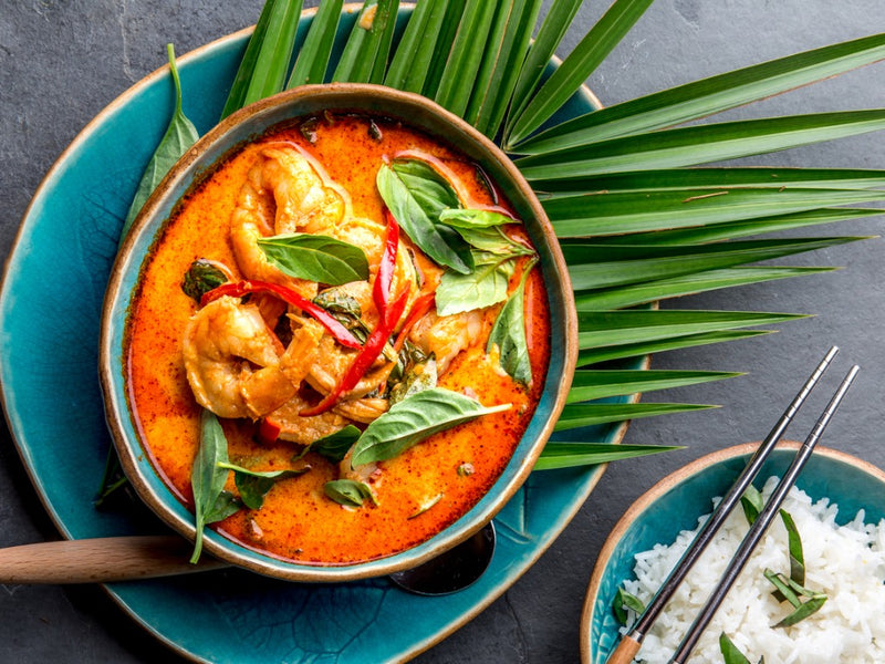 CHICKEN & SHRIMP RED CURRY