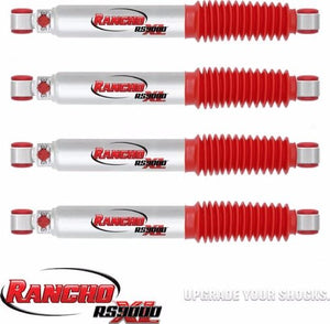 RANCHO RS9000XL SHOCK SET FITS 2004 - 2012 Nissan Titan 2WD 0in lift