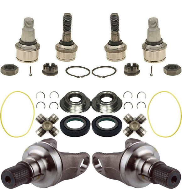 Dana Super 60 Axle Stubs/ Seals / Ball Joints and U Joints For 05-14 F-250 F-350