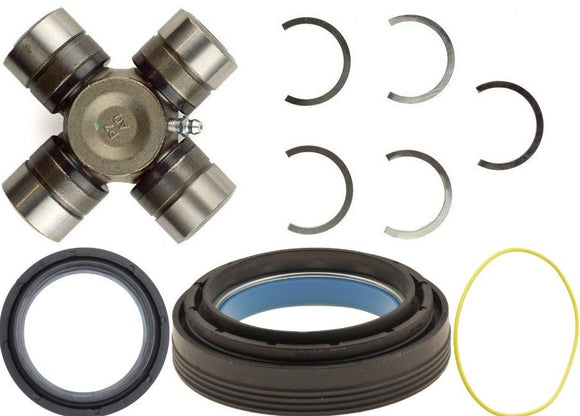 Dana 50 60 Front Axle Seals and U-Joint Kit For 1998-04 F-250 F-350 Superduty