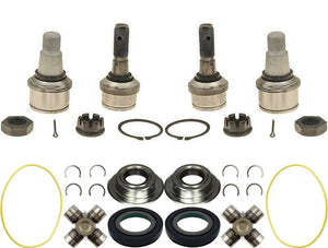 Dana Super 60 Axle Seal Ball Joints Greasable U Joints 05-14 F250 F350 Superduty