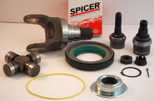 SPICER OUTER AXLE STUB, SEALS,U JOINT, BALL JOINT FOR 05-12 FORD F-250/F-350 4WD
