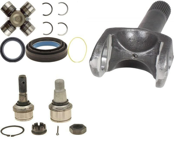 Dana 60 Axle Stub Shaft/Ball Joint/ U Joint /Seal Kit For 1998-04 F250 F350