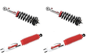 Rancho Quicklift Leveling Strut Shock Kit-Front+Rear 2009-13 Ford F150 4WD