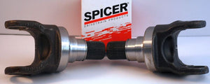 PAIR DANA SPICER OUTER AXLE SPINDLE STUB SHAFTS 2005-2012 FORD F-250 / F-350 4WD